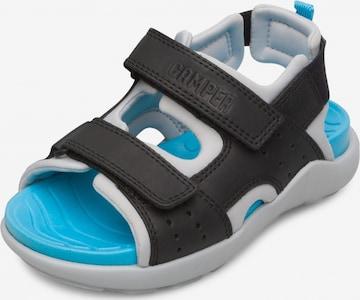 CAMPER Sandale 'Wous' in Schwarz