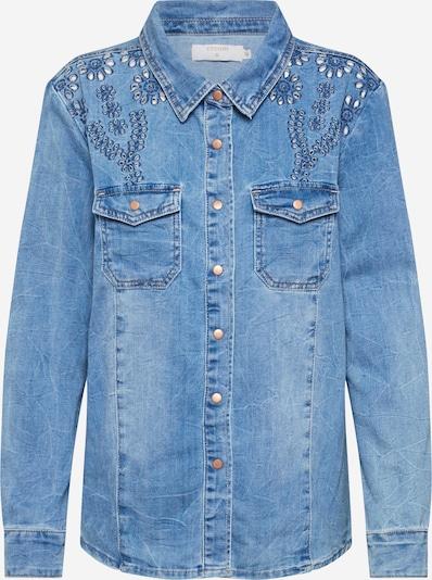 Cream Bluse 'YillaCR' in blue denim, Produktansicht