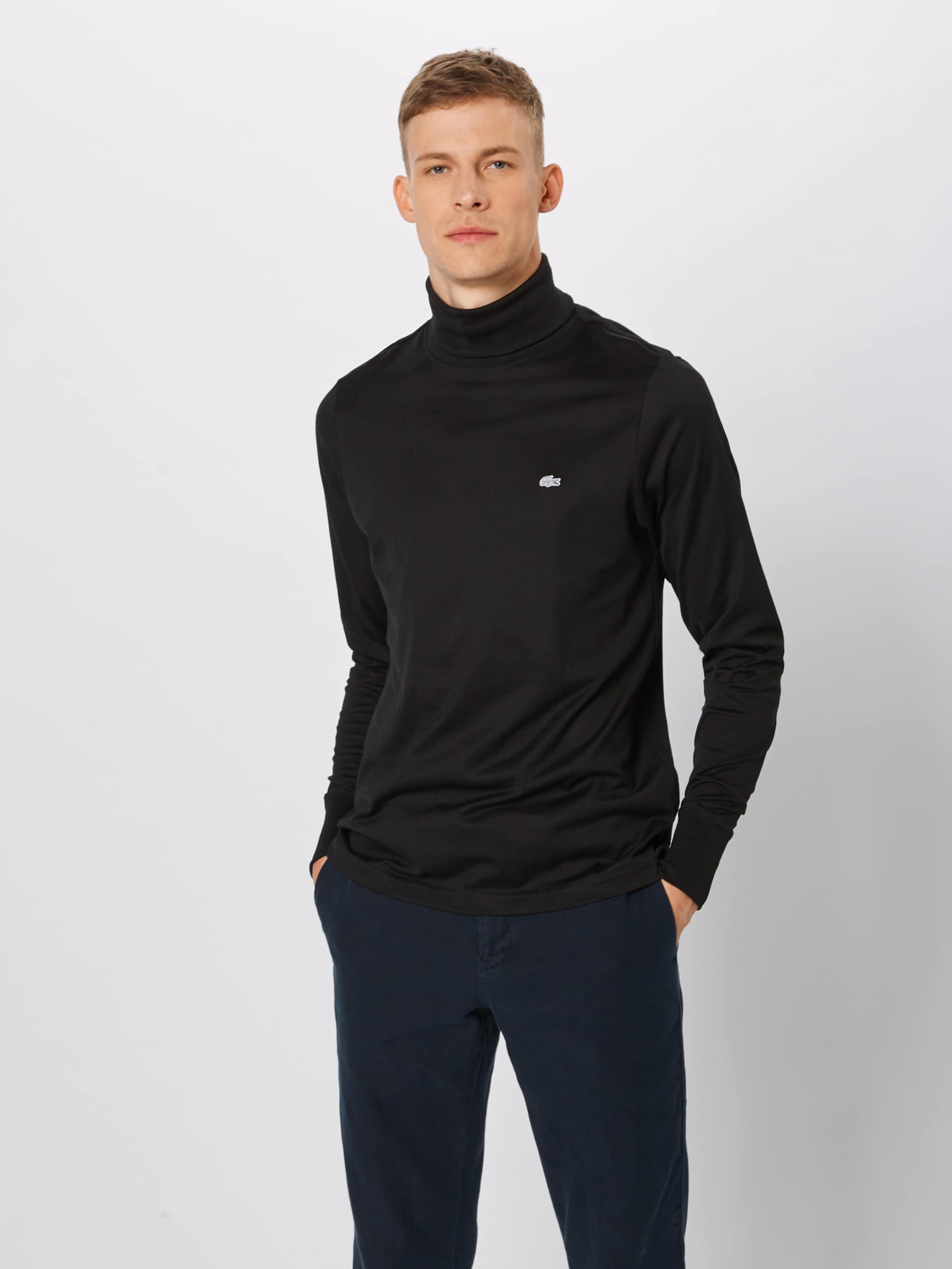 Rollkragenpullover 'chemise' In In 'chemise' Lacoste Schwarz Schwarz Rollkragenpullover Lacoste Lacoste Rollkragenpullover nwk80OP