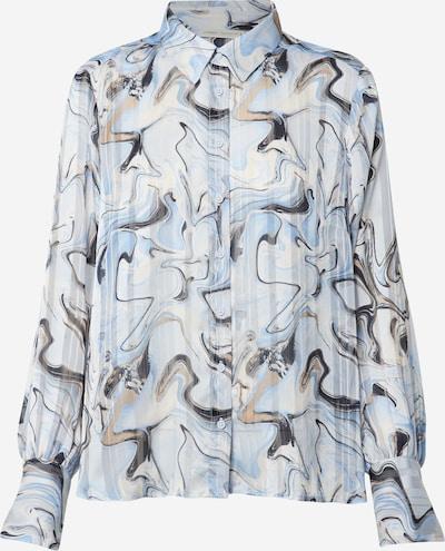 InWear Bluse 'Reemal' in blau / hellblau, Produktansicht