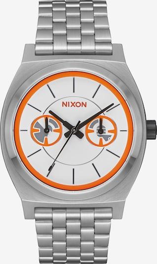 Nixon Uhr in orange / silber, Produktansicht