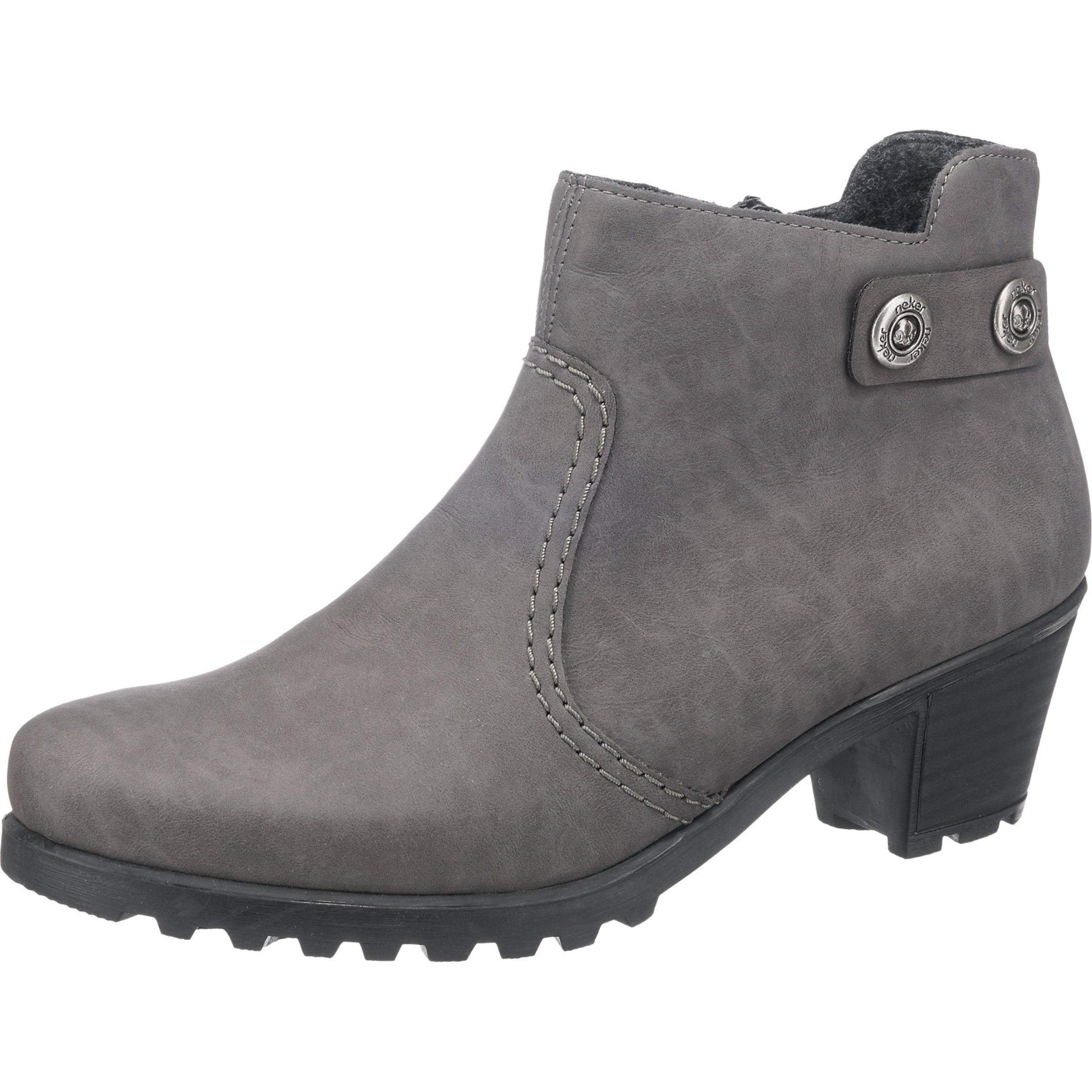 RIEKER Ankle-Boots Verschleißfeste billige Schuhe Hohe Qualität