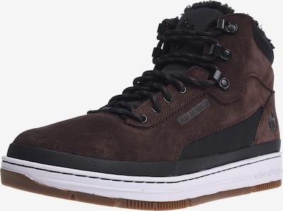 K1X Sneaker 'GK 3000' in dunkelbraun / schwarz / weiß, Produktansicht
