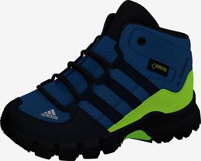 ADIDAS PERFORMANCE Outdoorschuh 'TERREX MID GTX' in blau / neongrün / schwarz, Produktansicht