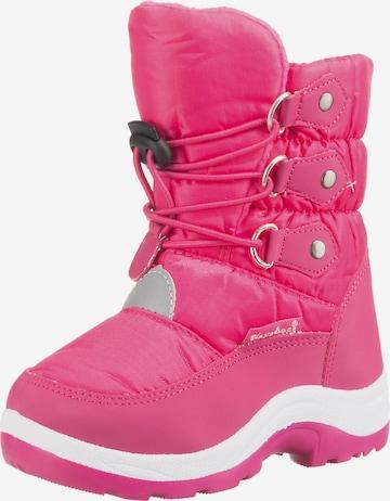 PLAYSHOES Winterstiefel in Pink