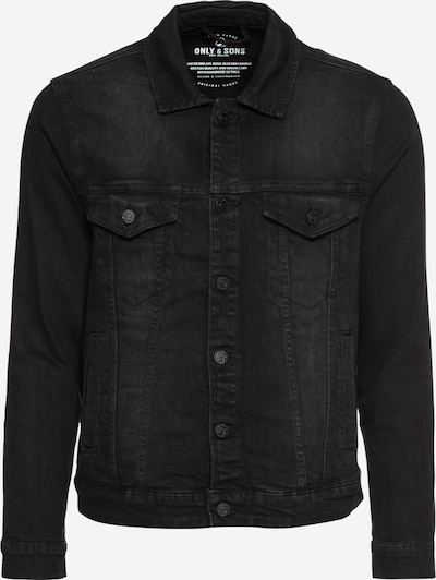 Only & Sons Tussenjas 'onsCOIN JACKET BLACK PK 0453 NOOS' in de kleur Black denim, Productweergave