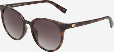 LE SPECS Sonnenbrille 'Armada' in braun / dunkelbraun, Produktansicht
