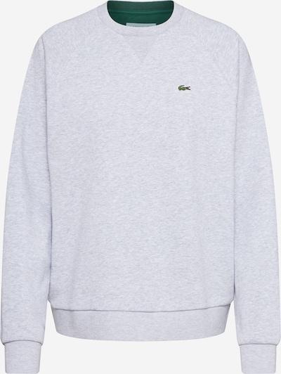 LACOSTE Sweatshirt in de kleur Grijs gemêleerd / Groen, Productweergave