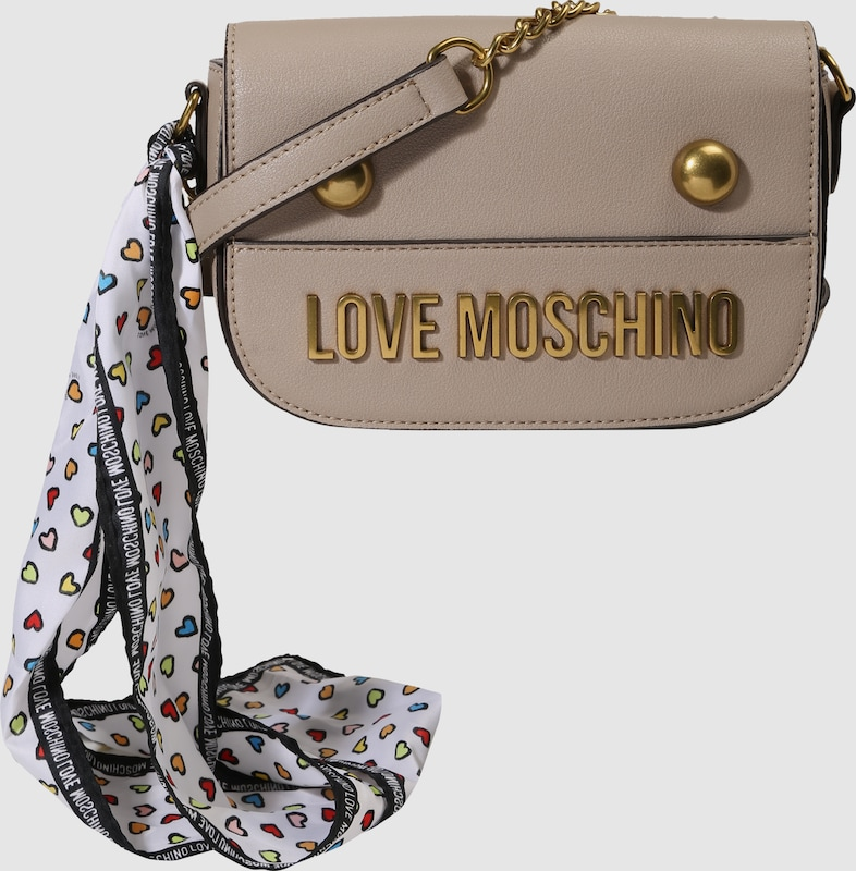 Love Moschino Umhänetasche mit Label-Schriftzug