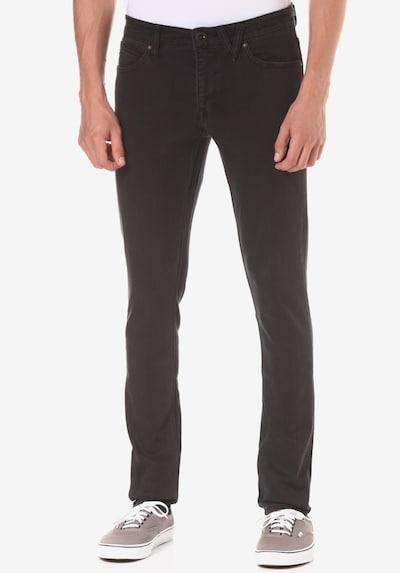 Volcom Jeans 'Vorta' in dunkelbraun, Modelansicht