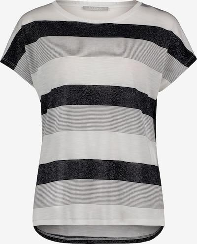 Betty & Co Shirt in de kleur Enziaan / Grijs / Wit, Productweergave
