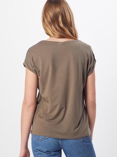 VERO MODA Shirt in de kleur Kaki: Achteraanzicht