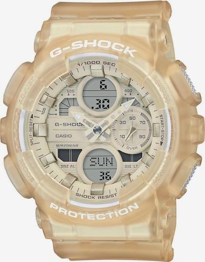 CASIO Uhr 'G-SHOCK' in hellbeige / grau / weiß, Produktansicht