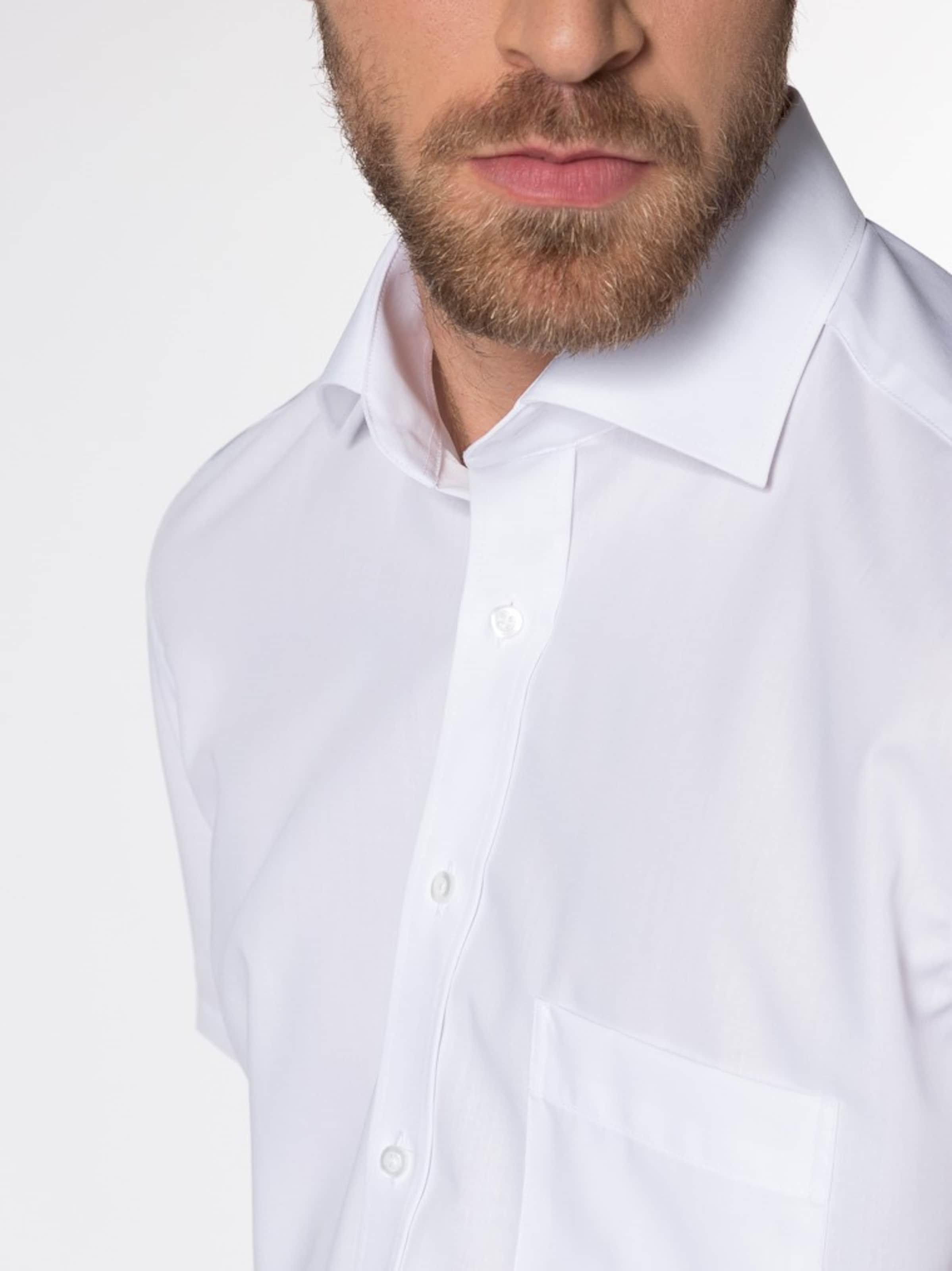 Hemd Eterna In Kurzarm Fit Modern Weiß KlFT1cJ3u