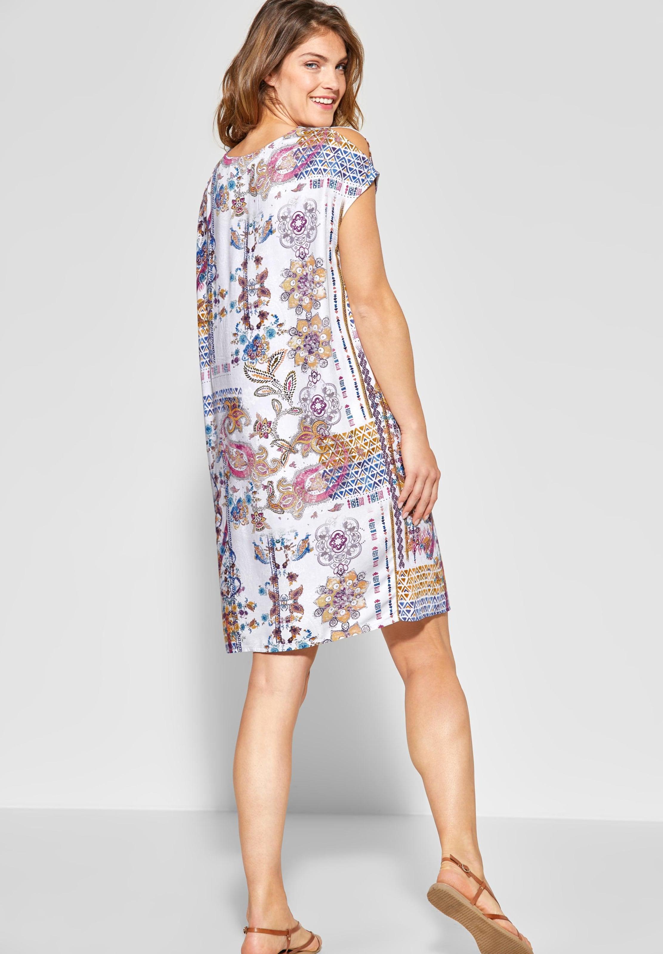 Kleid In Kleid Cecil MischfarbenWeiß In MischfarbenWeiß Cecil Cecil kuOiTZPX