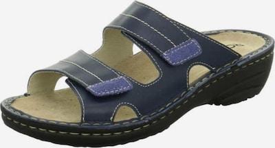 ROHDE Pantolette in navy / royalblau, Produktansicht