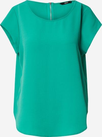 ONLY Blusenshirt 'Vic' in grün: Frontalansicht