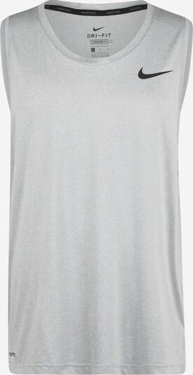 NIKE T-Shirt fonctionnel en gris / gris clair, Vue avec produit