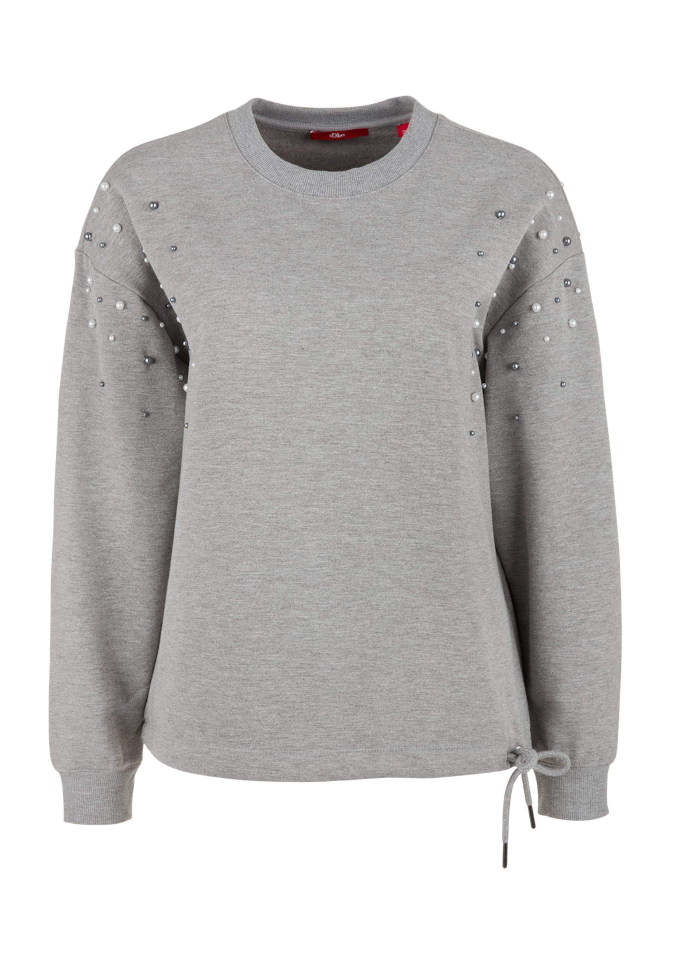 Grau S oliver Sweatshirt oliver S In hQxsCrtd