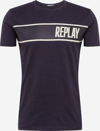 REPLAY T-Shirt in schwarz, Produktansicht