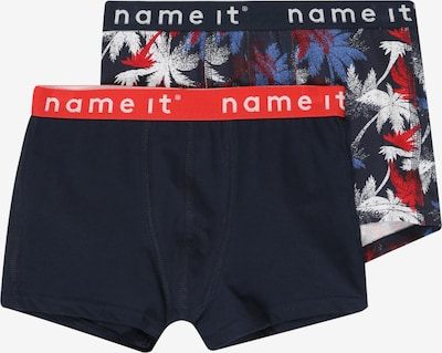 NAME IT Trunks 'NKMBOXER' in dunkelblau / rot, Produktansicht
