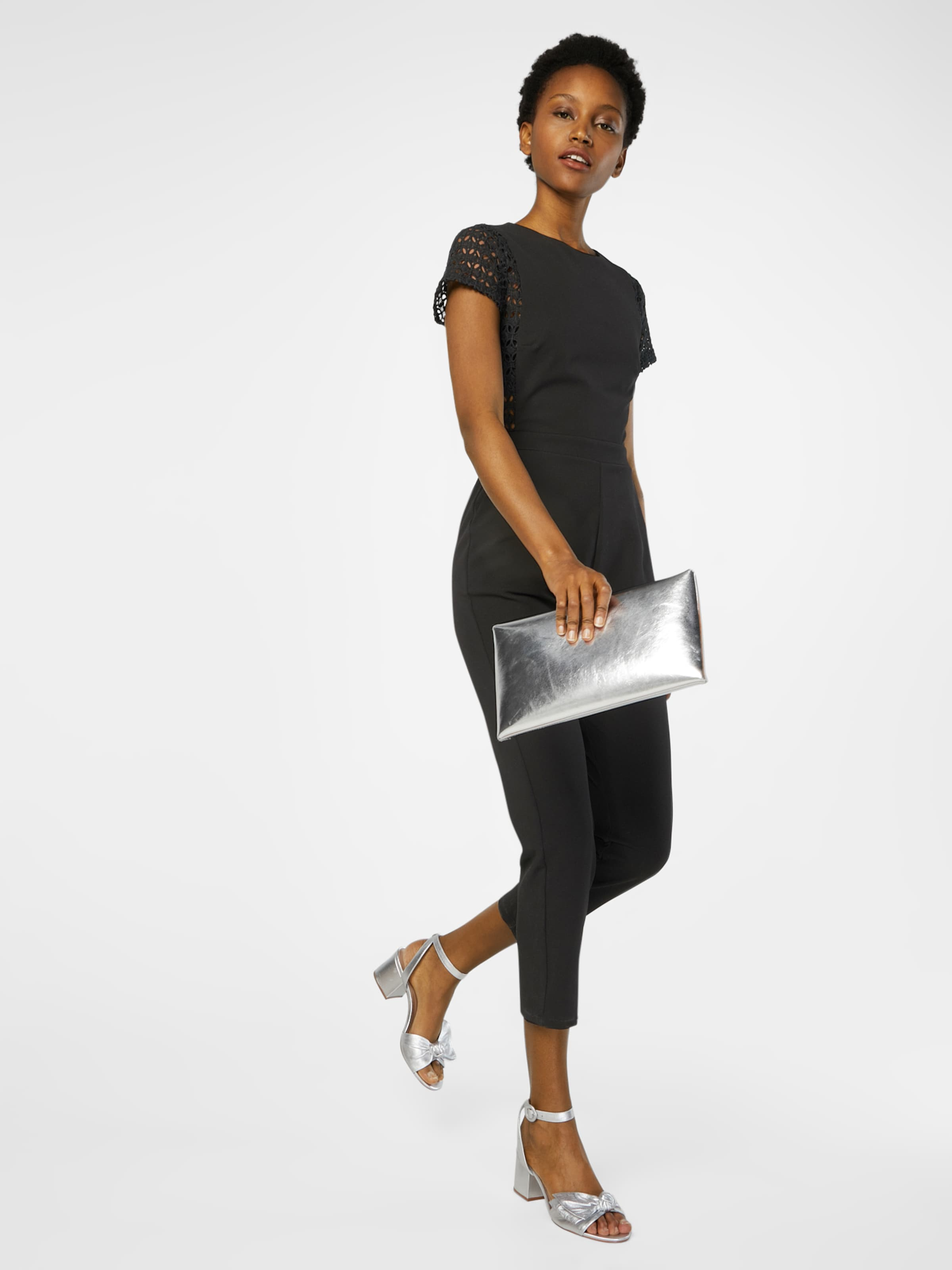 Erkunden Verkauf NEW LOOK Jumpsuit mit Spitzenbesatz xCDvasj4te
