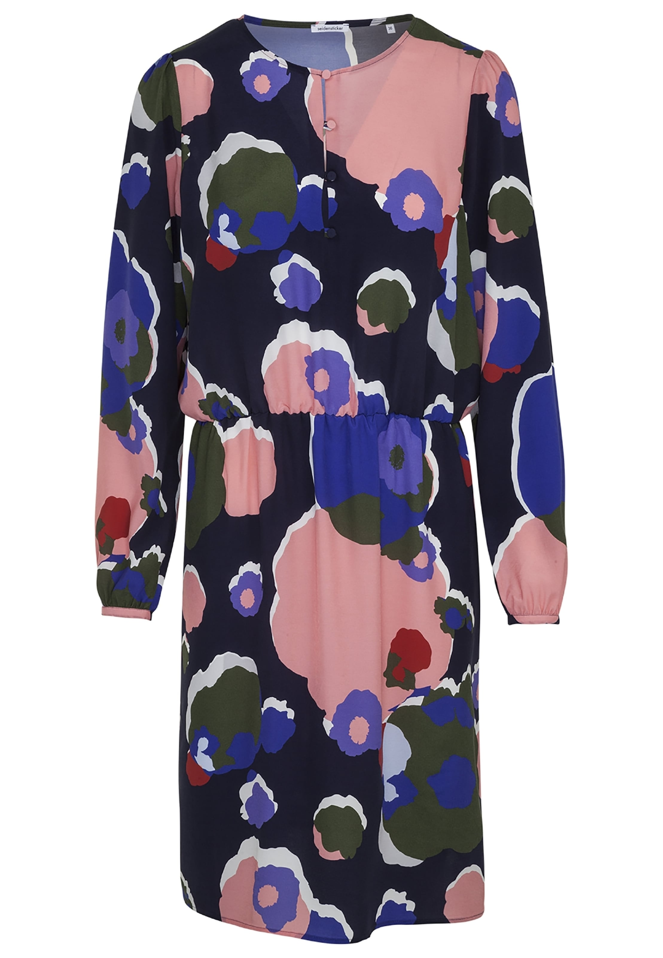 Rose' Olive BleuNuit Ancienne Seidensticker Blanc chemise En 'schwarze Rose Robe vNnw80m
