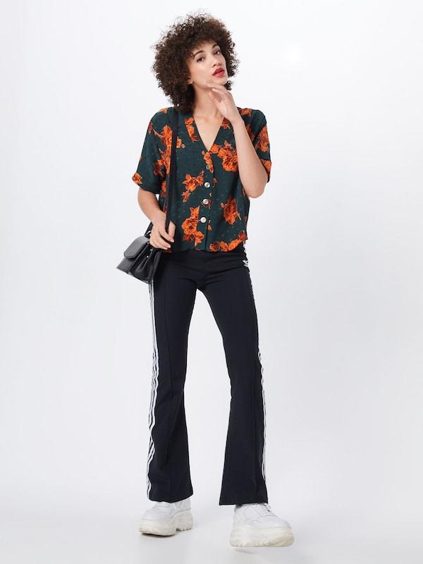 'fran Floral Look En Jacquard Peggy' New Tunique VertOrange DEHW29I