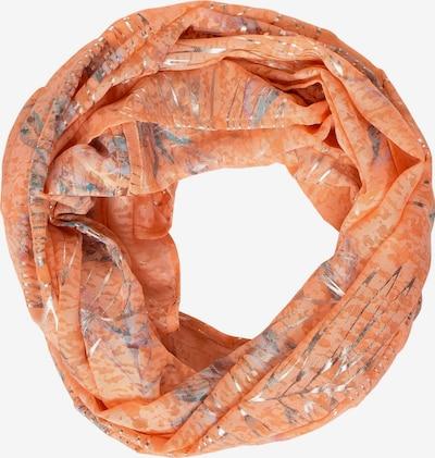 CECIL Loop mit schimmerndem Print in orange, Produktansicht
