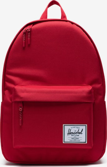 Herschel Rugzak in de kleur Rood, Productweergave