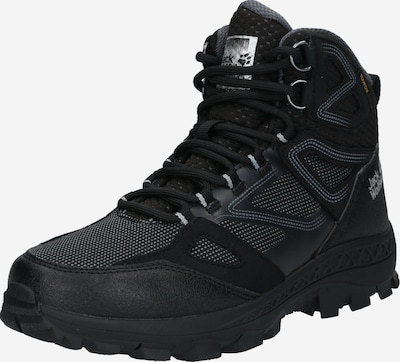 JACK WOLFSKIN Wanderstiefel 'Downhill Texapore Mid' in grau / schwarz, Produktansicht