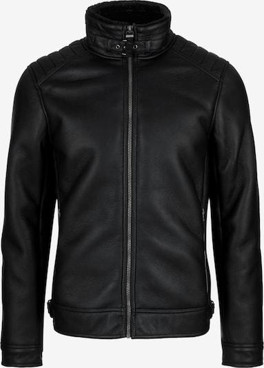 s.Oliver Bikerjacke in schwarz, Produktansicht
