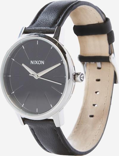 Nixon Analogna ura 'Kensigton Leather' | črna / srebrna barva, Prikaz izdelka