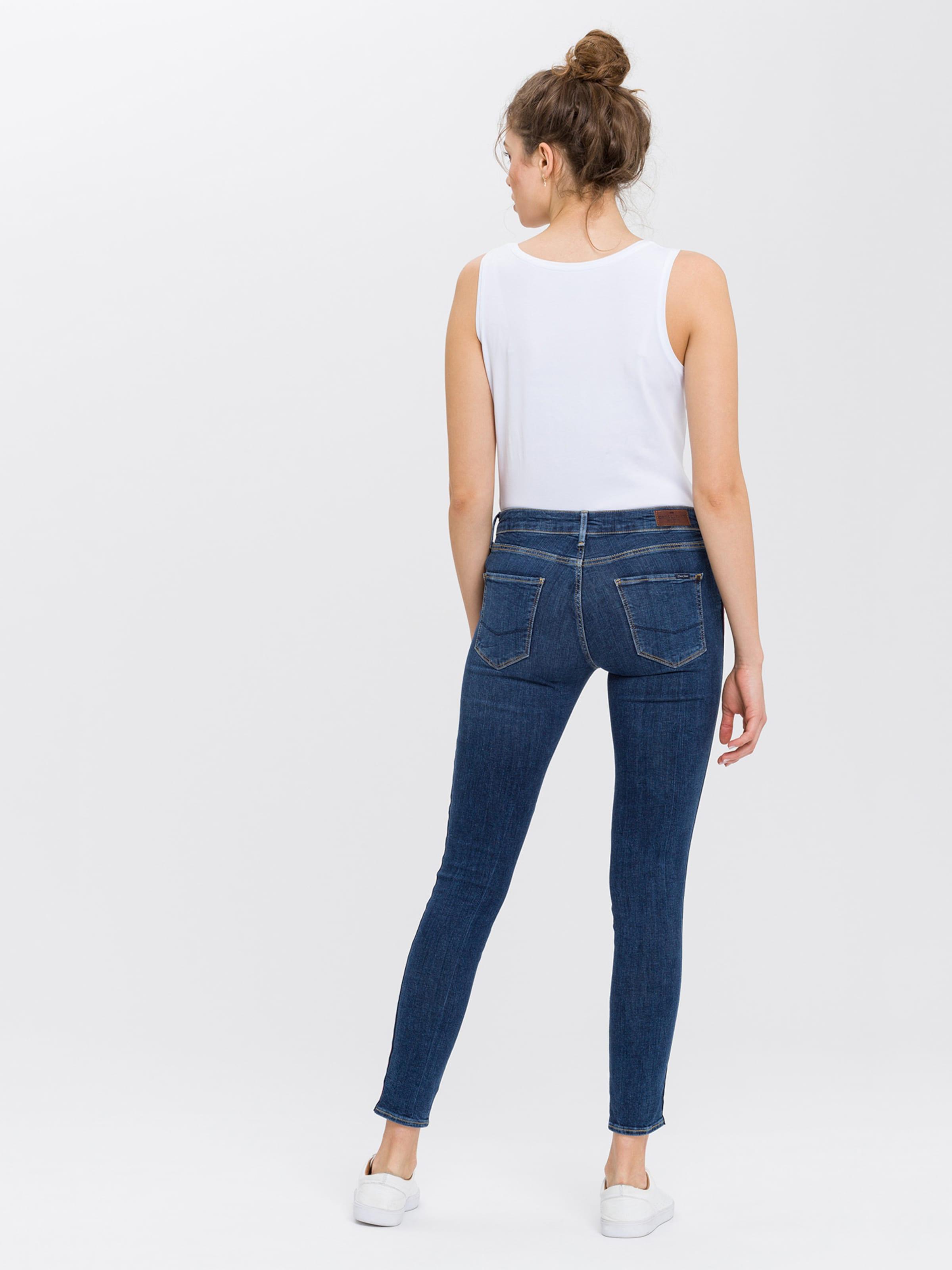 DunkelblauRot 'giselle' Jeans Cross Weiß In NOPn8wkX0
