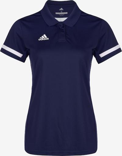 ADIDAS PERFORMANCE Poloshirt in nachtblau / weiß, Produktansicht