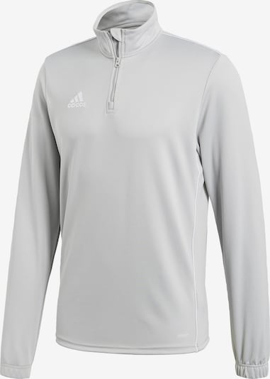 ADIDAS PERFORMANCE Functioneel shirt 'Core 18' in de kleur Lichtgrijs, Productweergave