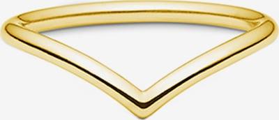 ID Fine Bague 'Dash V' en or, Vue avec produit