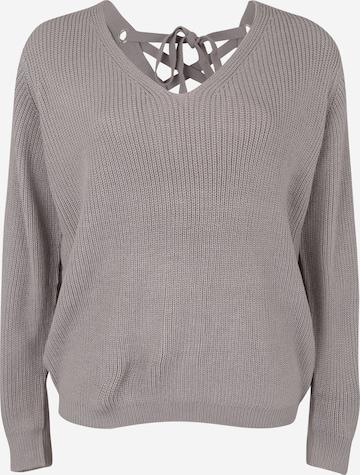 Urban Classics Curvy Sweater in Grey