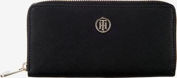 TOMMY HILFIGER Portemonnaie 'Honey' in Schwarz
