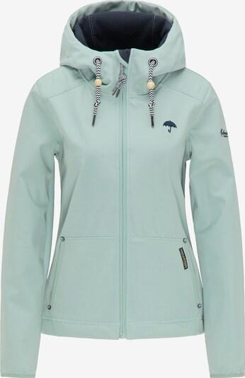 Schmuddelwedda Functionele jas in de kleur Mintgroen, Productweergave
