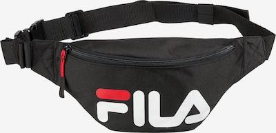 FILA Gürteltasche in rot / schwarz / weiß, Produktansicht