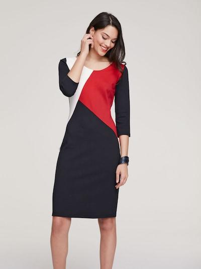 heine Kleid in marine / rot / weiß, Modelansicht