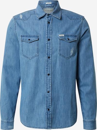 GUESS Košeľa 'Truckee' - modrá denim, Produkt