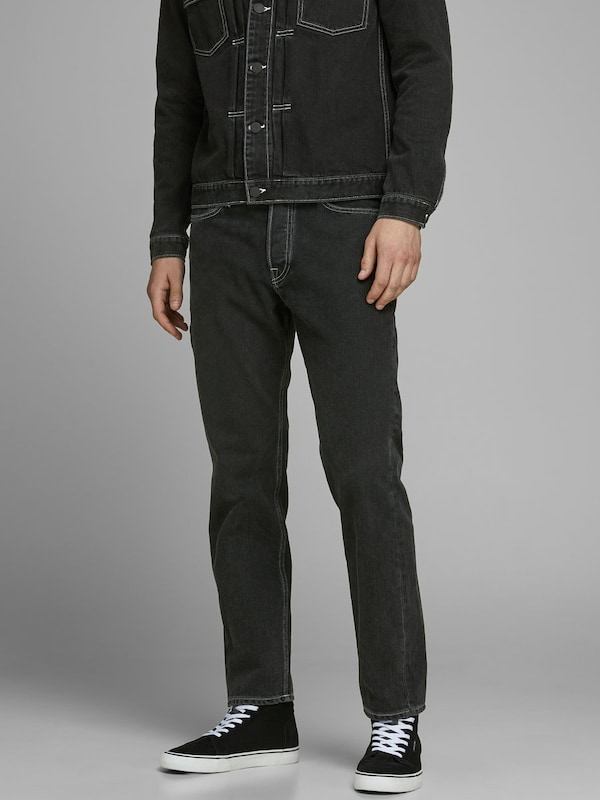 JACK & JONES Jeans 'CHRIS ORIGINAL AM 985' in schwarz, Modelansicht