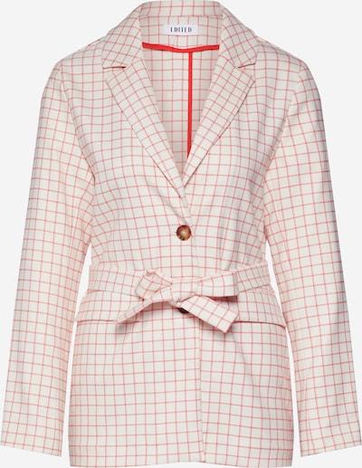 EDITED Blazers 'Calla' in de kleur Rood / Wit, Productweergave