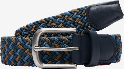 s.Oliver Gürtel in blau / navy / braun, Produktansicht