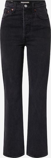 Jeans 'Ribcage' LEVI'S di colore nero denim, Visualizzazione prodotti