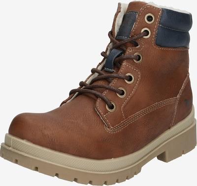 MUSTANG Schuhe 'Schnür-Booty' in kastanienbraun, Produktansicht