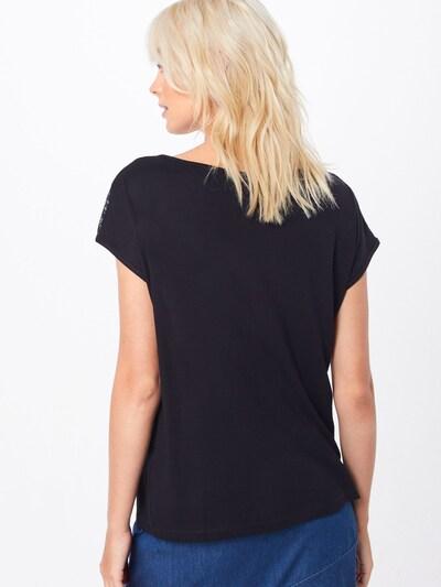 ABOUT YOU T-shirt 'Josina' en noir: Vue de dos