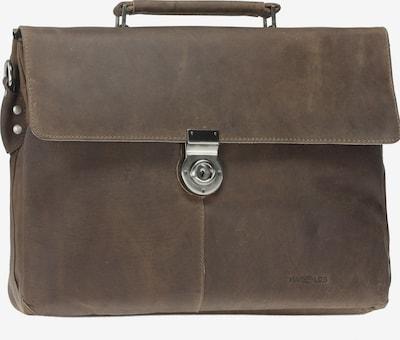 Harold's Aktentasche 'Antico' in kastanienbraun, Produktansicht